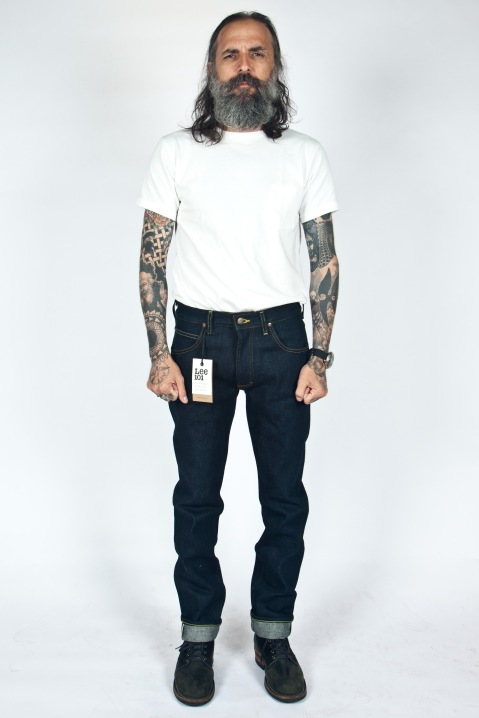 lee rider 19oz dry selvage-1