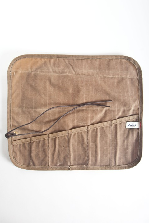 archival clothing waxed tool roll-3