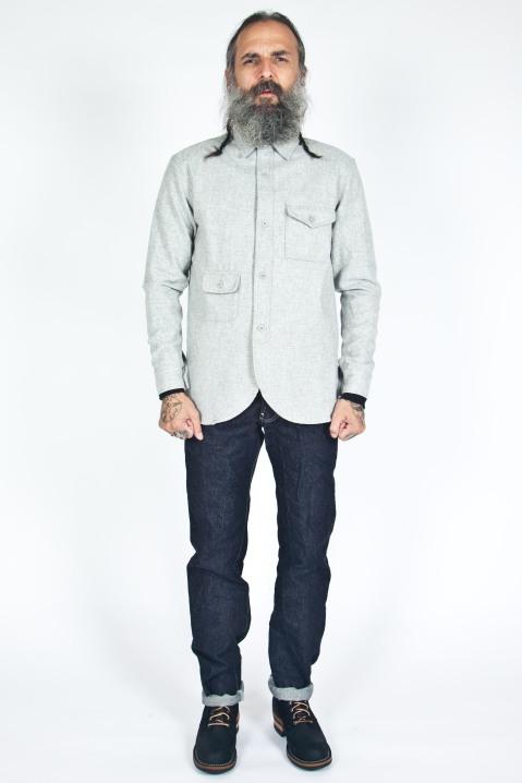 han kjobenhavn army shirt grey-1